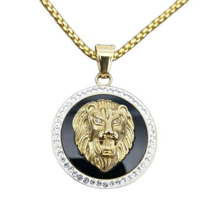 Collier Tete De Lion