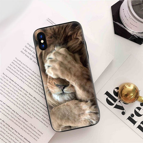 coque iphone 7 lion