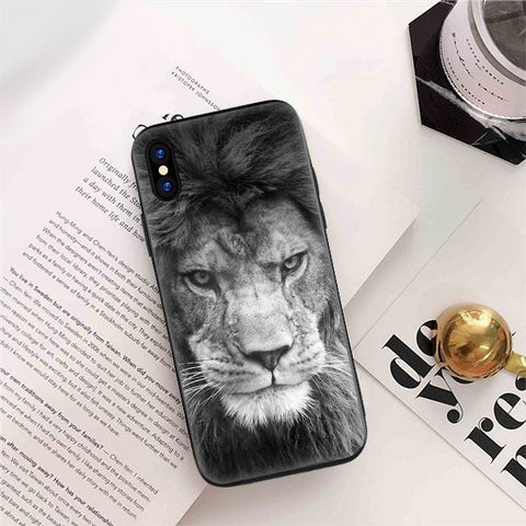 coque lion iphone 6