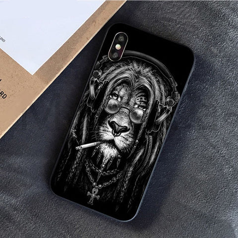 coque lion rasta
