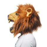 costume tete de lion