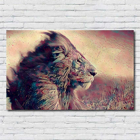 Grand Poster Lion