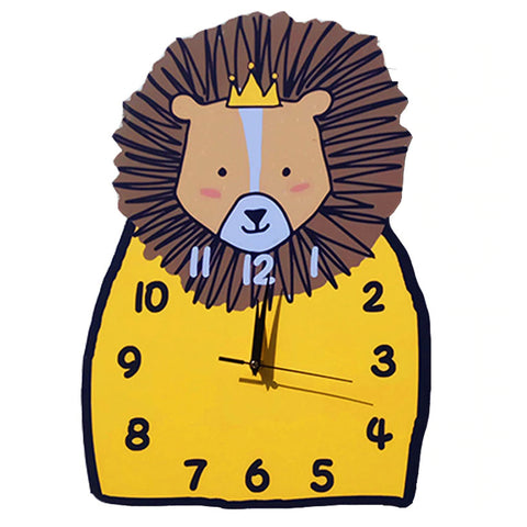 Horloge Lion Couronne