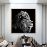 Poster Lion Decoration
