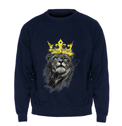 pull homme lion
