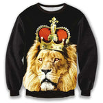 pull lion couronne