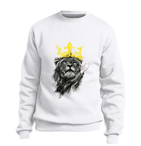 pull lion homme