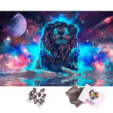 Puzzle Lion Galaxie