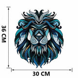 Sticker Lion Mandala