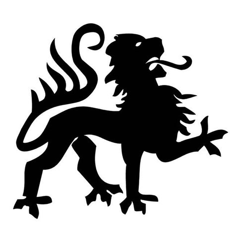 Sticker Lion Medieval