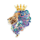 Stickers Lion Couronne