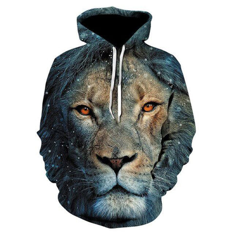 Sweat Bleu Lion