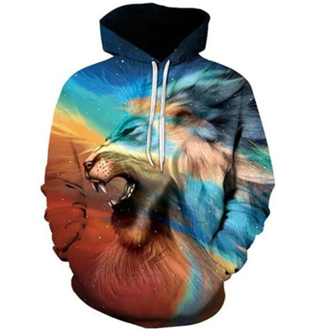 Sweat Homme Imprime Animaux