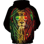 sweat rasta homme félin