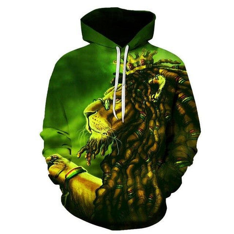 sweat rasta lion