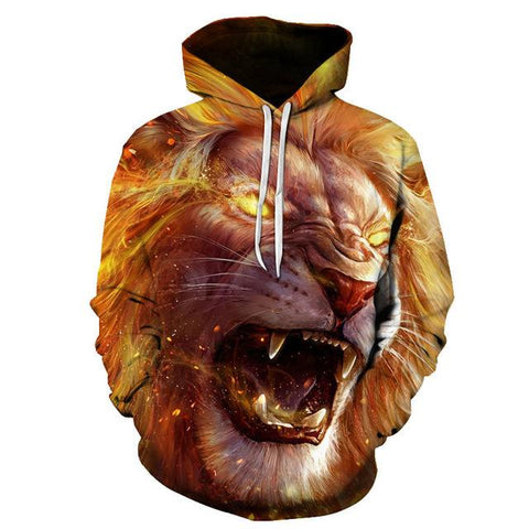 sweat shirt design lion
