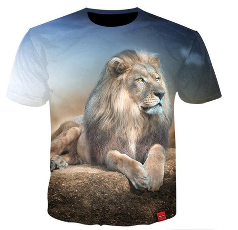 T Shirt Animaux 3d