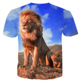 T Shirt Animaux Savane