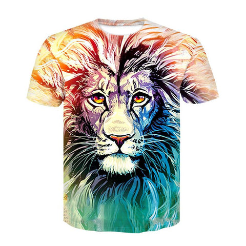 T Shirt Dessin Lion
