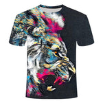 T Shirt Lion Cool