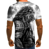 T Shirt Lion Homme