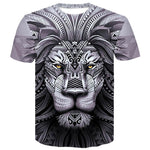 T Shirt Mandala Lion