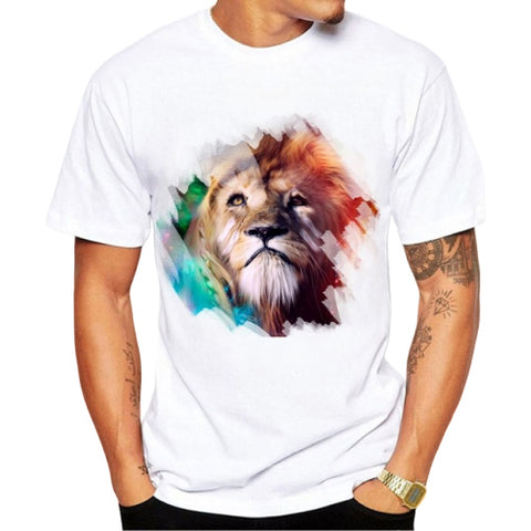 t shirt lion animal