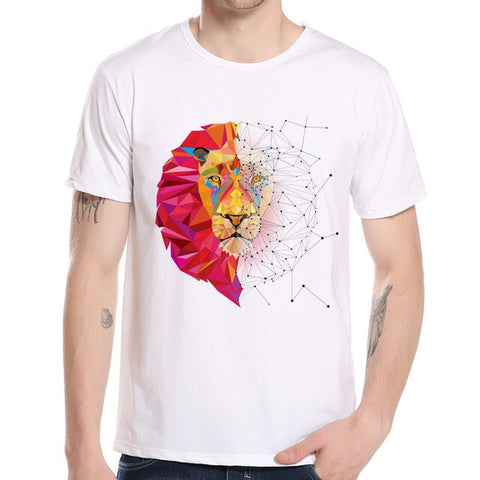 t shirt lion design