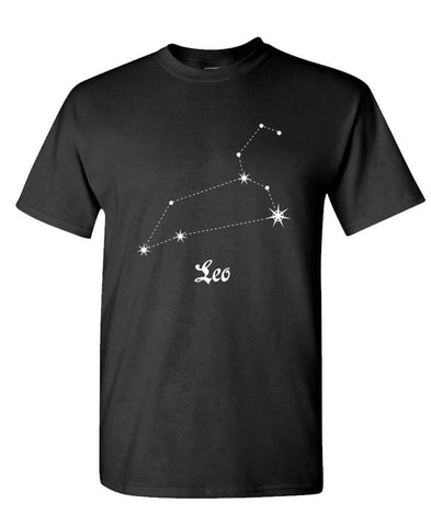 t shirt signe astrologique lion