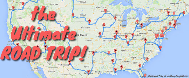 Data geniuses have figured out what the ultimate U.S. road trip looks like...