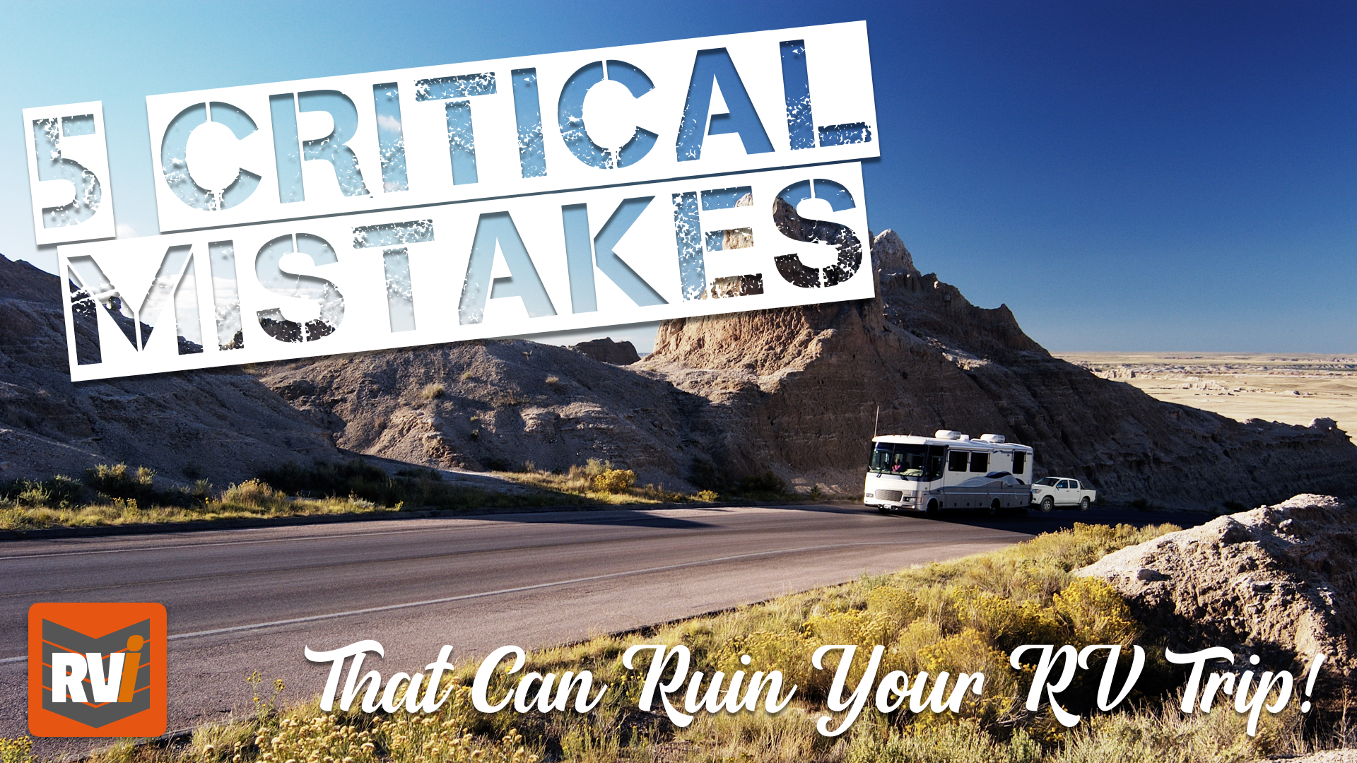 Mistakes That Can Ruin your RV Trip