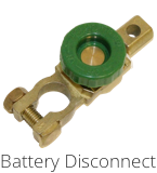 Towed Battery Disconnect Button