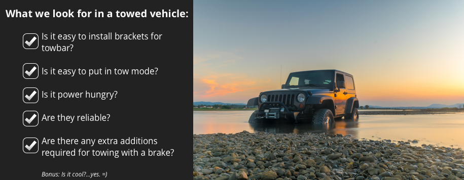 Flat Towing Guide - Jeep