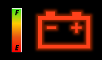 Shadow Battery Icon