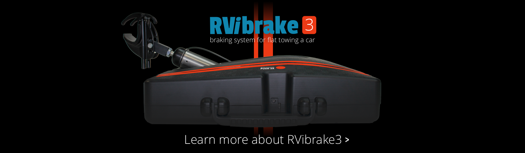 Learn More about RVibrake3 Flat Towing Braking System