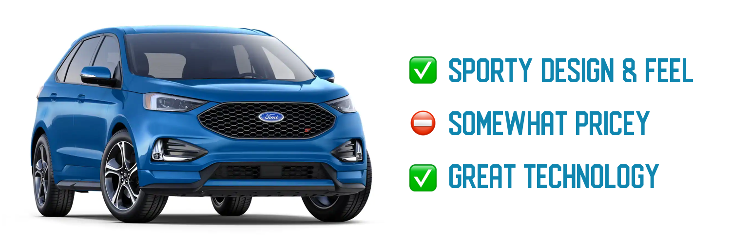 2020 Ford Edge ST Flat Towing pros and Cons