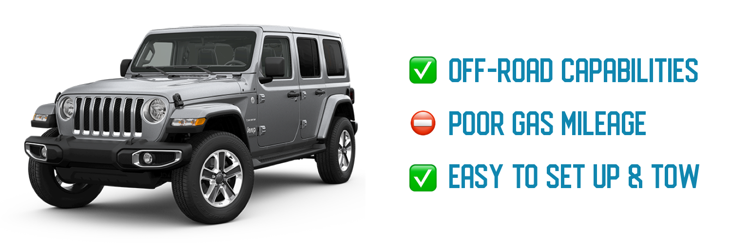 Jeep Wrangler Flat Towing Pros and Cons