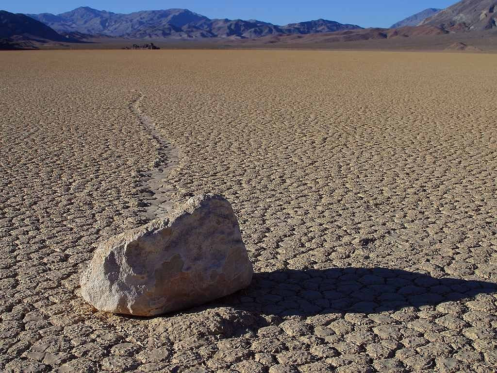 Death Valley Sailing Stones - RV Road Trip
