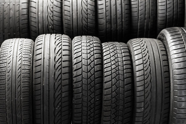 Tires Stacked, RV Tire Safety