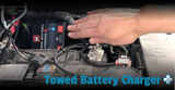 Towed Battery Charger Plus for flat towing