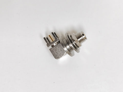 Brake Antenna Connector: 90 connector, and jam nuts