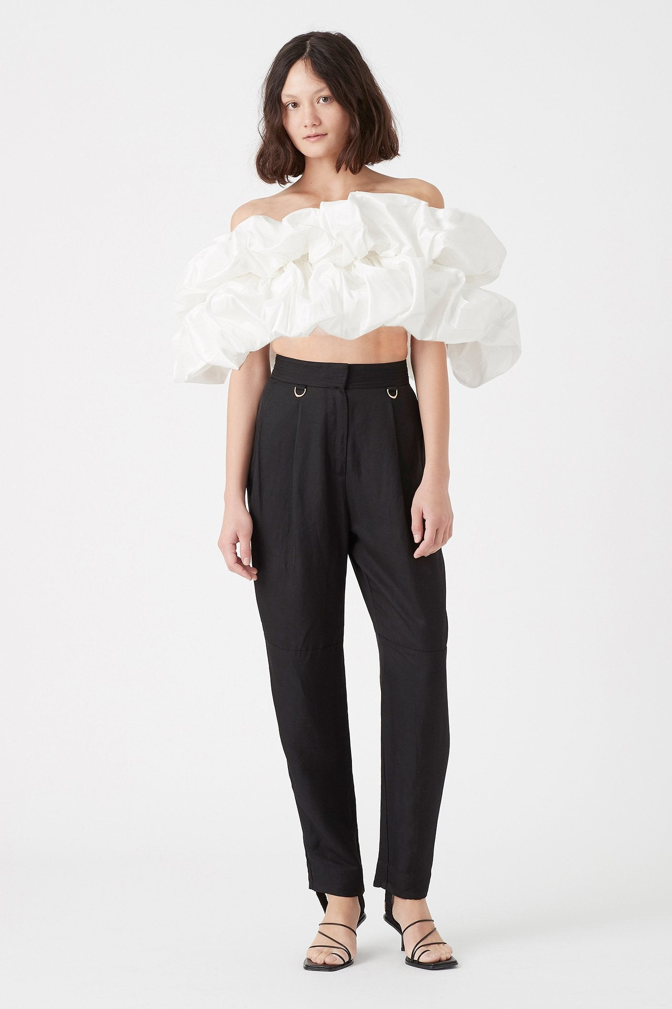 Banksia Bubble Top Outfit View