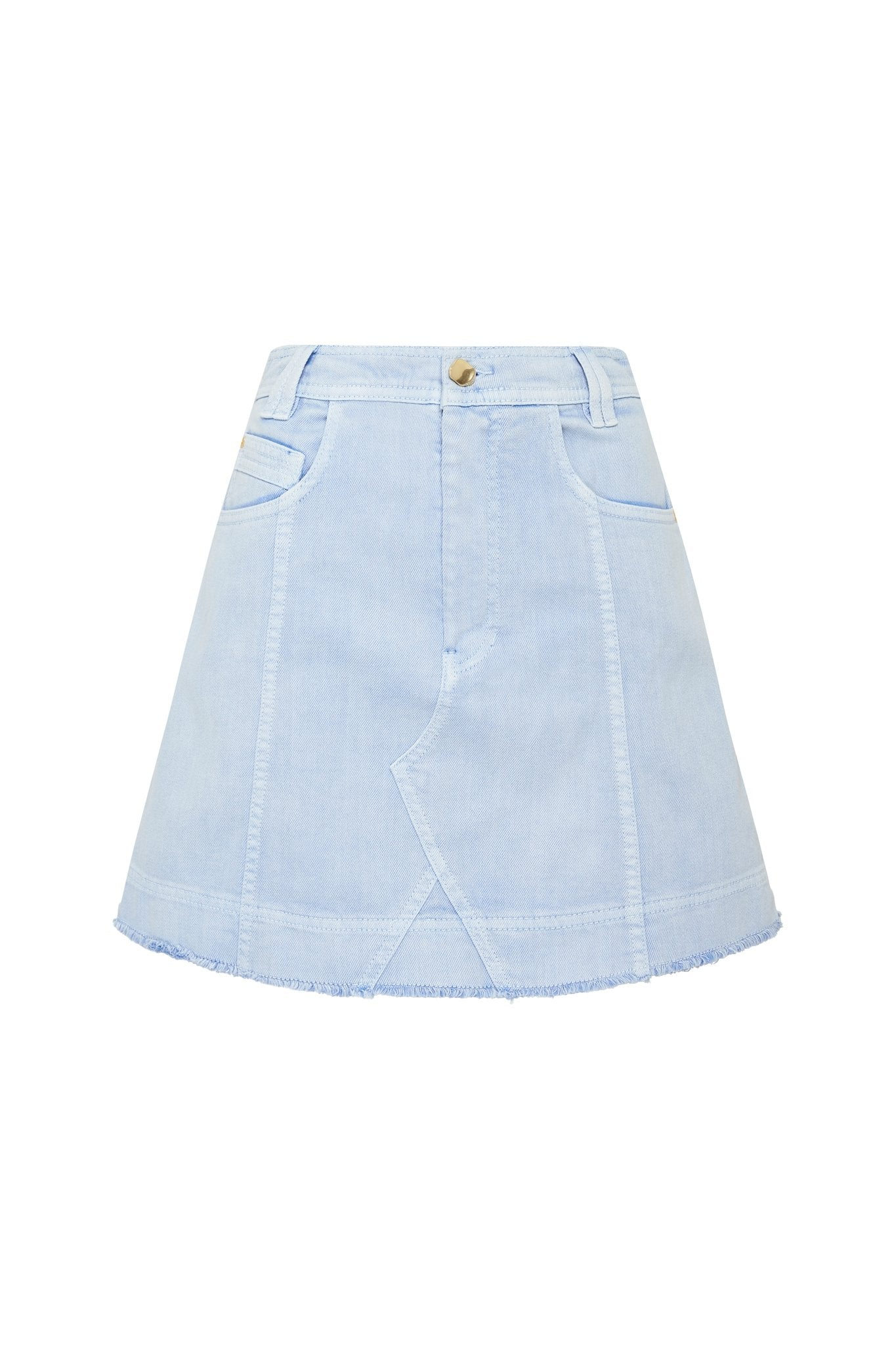 Overture Denim Mini Skirt Product View