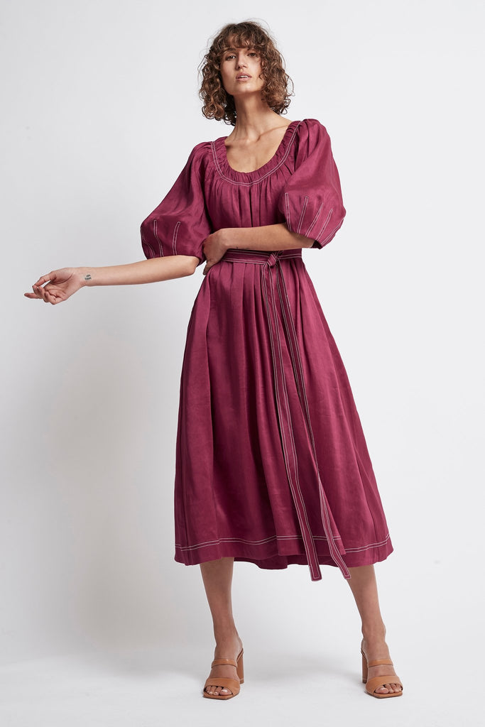 Rebellion Midi Smock Dress