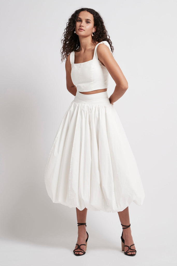 Quietude Bubble Skirt