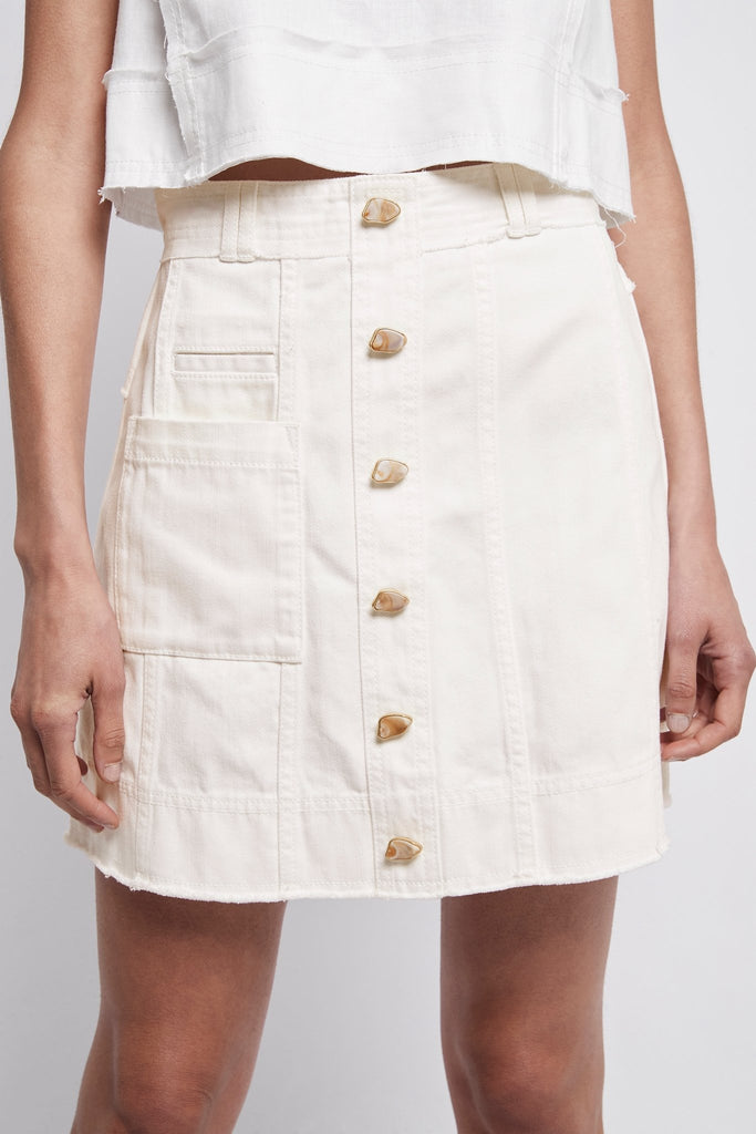 Framework Denim Pocket Skirt