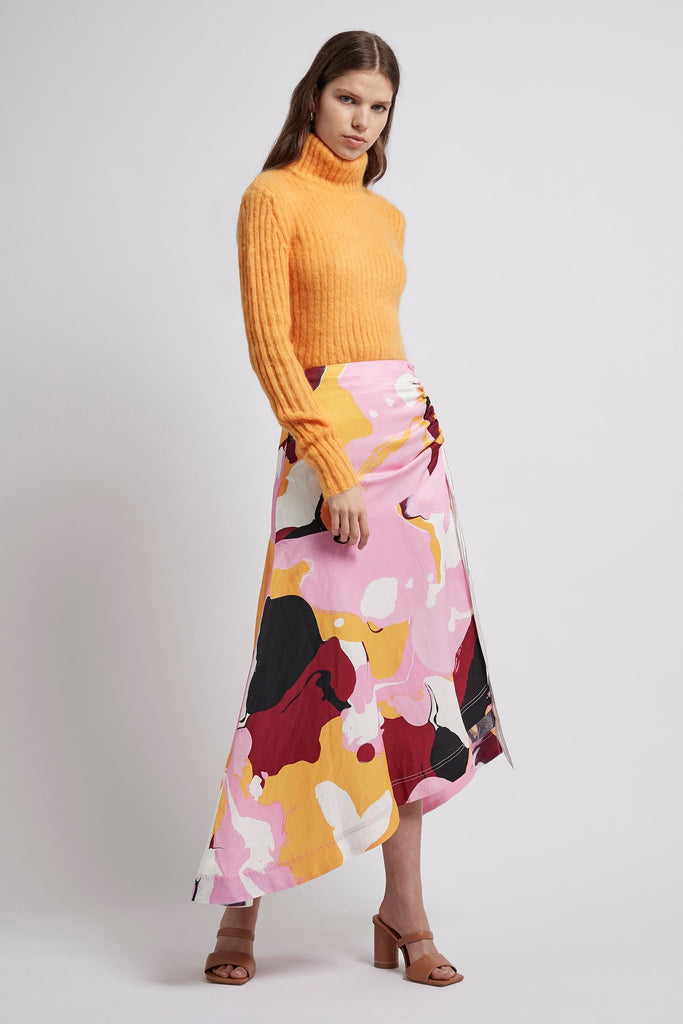 Psychedelia Roll Neck Top