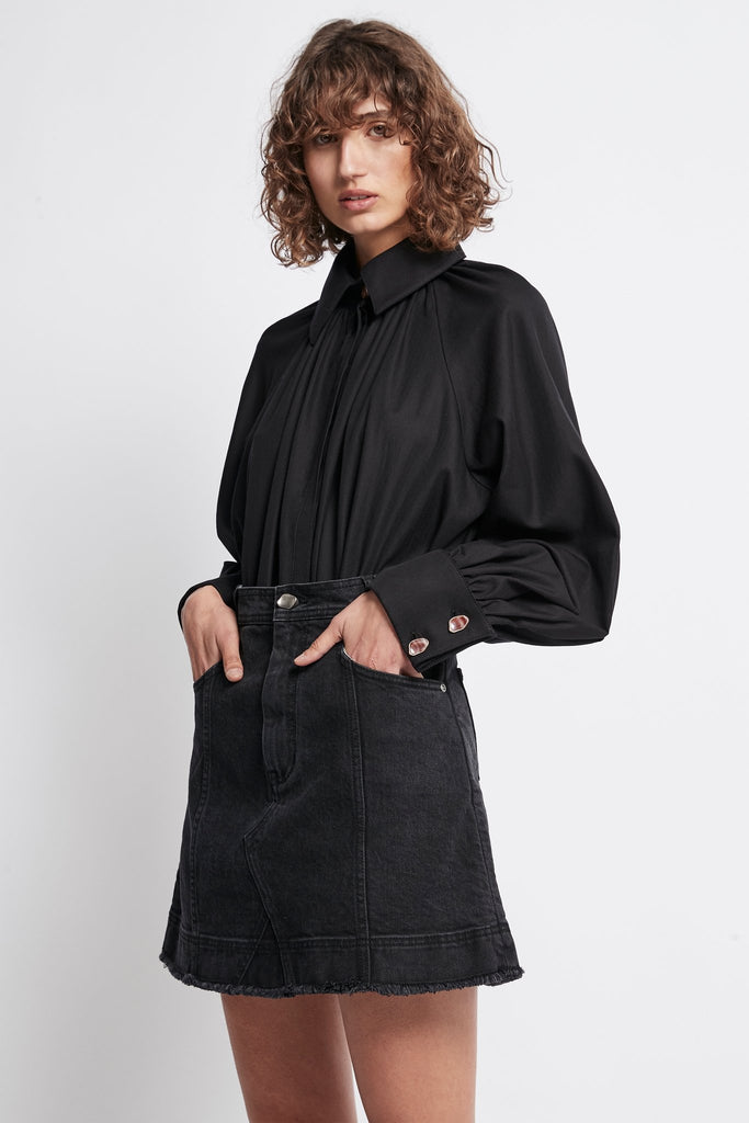 Liberation Herringbone Smock Shirt