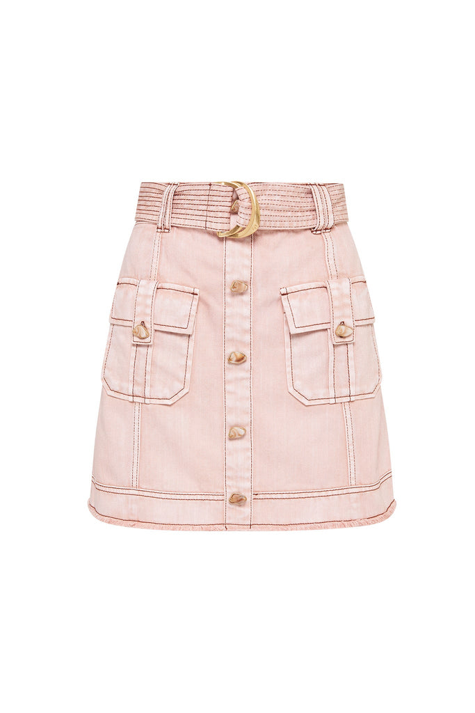 Darcel Denim Utility Skirt