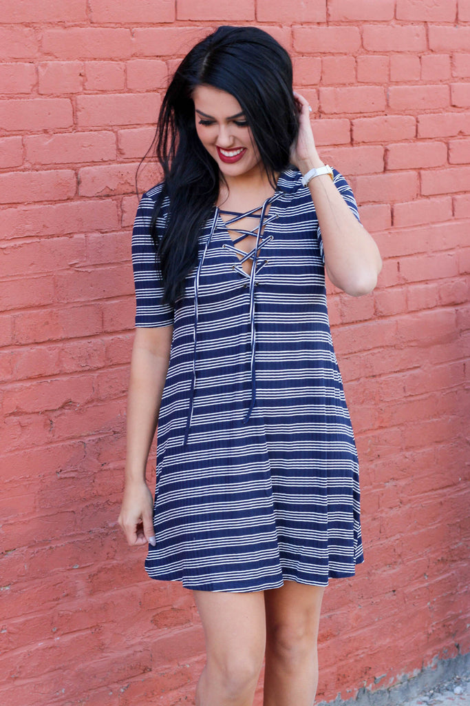 Just Like That Dress: Navy